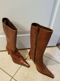 Bottes en cuir Made in Italy porter 2 fois Laval, H7W 0G1