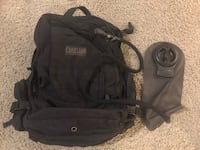 black and gray The North Face backpack Chantilly, 20151