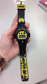 Limited edition Wu Tang G shock watch