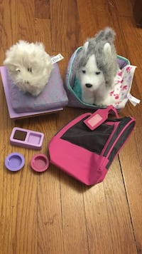 American girl dog set - pepper & coconut   Yonkers, 10704