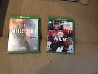 two Xbox One game cases Fairfax, 22030