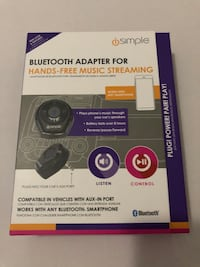 Bluetooth Adapter for Vehicles with AUX Port