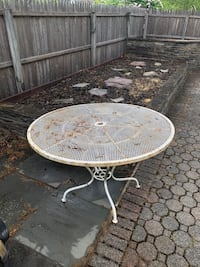 Outdoor Cast Iron Table
