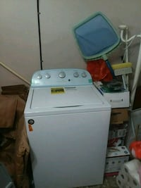 white top-load clothes washer Tampa, 33635