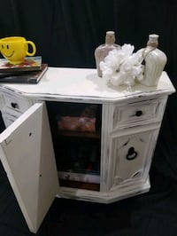Entryway table console storage cabinet TV stand refinished  Edmonton, T5Y 2S9
