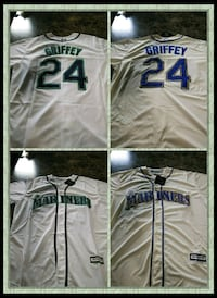 two Griffey 24 soccer jersey collage Tacoma, 98444