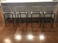 Counter height chairs set of 4