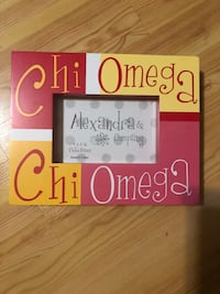 Chi Omega Block Photo Frame - Alexandra Co.