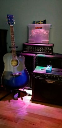 2 Cabinets, 3 Amps, 1 Head, 1 Guitar, extr Gilberts, 60136