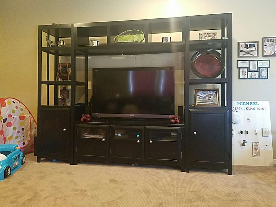 Ashley Furniture Entertainment Center in Stafford letgo