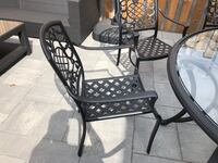Patio table 6 chairs cast iron $800 obo Vaughan, L4J 2R9