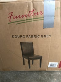 Set of Two Grey Dining Chairs Oxnard, 93035