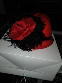 red and black hat Louisville, 40258
