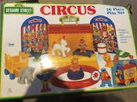 Sesame Street circus includes box from 1991 Rochester, 14612