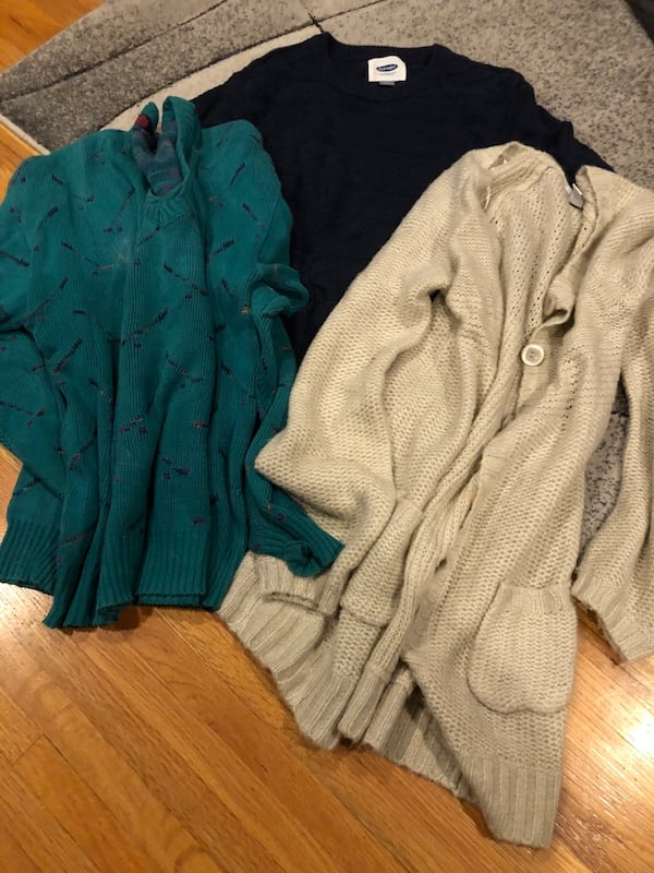 3 Medium Sweaters for $5 f2b3e6a4-01d0-4470-bbe8-fdf72c0d8776