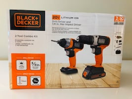 Black and decker 2 tool combo  Drill/impact drill