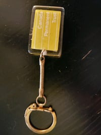 old Canada Permanent Trust promotional key chain