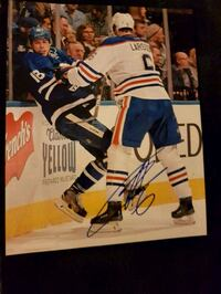 Adam Larsson Autographed 8x10 Photo  3144 km