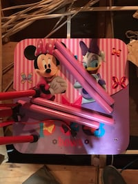 pink Minnie Mouse themed table Arlington, 76001