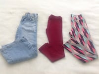 3 pants in perfect condition for kids size 6.   all for $10 Hamilton, L8V 4K6