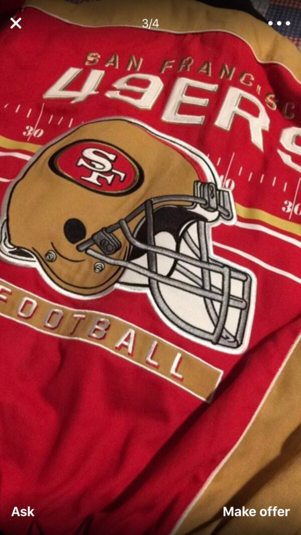 276681fbe Used San Francisco 49ers jacket brand new with tags for sale in San Leandro  - letgo
