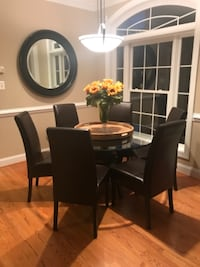 """54"""" Round Dining Table and Chairs ARLINGTON"""