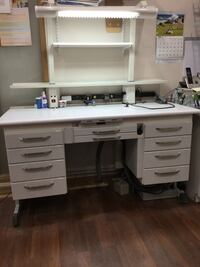 Dental Laboratory Work Bench and chair