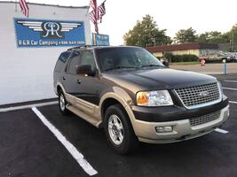 2006 GREEN FORD EXPEDITION EDDIE BAUER 4X4 SUV LEATHER MOONROOF TV 3RD ROW SMOOTH