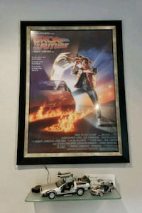 Framed  movie poster and prop cars Fallbrook, 92028