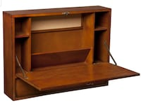 Solid wood floating wall desk  Pikesville
