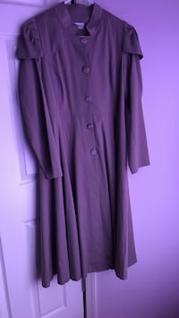 women's purple long-sleeved dress Bethlehem, 18017