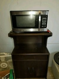 Microwave $40 with stand $10 Vineland, 08361