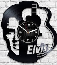 Vynil custom wall clock