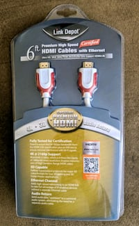 Link Depot 6' HDMI Cable - NEW