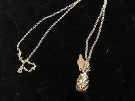 925 pineapple necklace