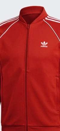 MENS ADIDAS JACKET SIZE SMALL COLOR RED ORANGE ORIGINAL ADIDAS COMING  Montréal, H2A 1S9