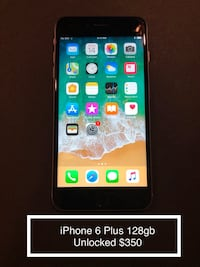 iPhone 6 Plus 128gb Unlocked $350 Centreville, 20120
