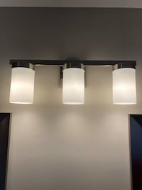 Three bulb vanity light