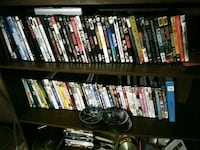 assorted DVD movie cases collection 2302 mi