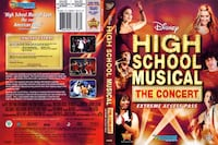 HIGH SCHOOL MUSICAL The CONCERT DVD*IF AD'S UP, IT'S STILL AVAILABLE Hamilton