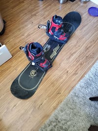 Santa Cruz Limited Edition Snowboard, Boots, and Bindings