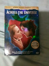 Across the Universe 2-disc deluxe edition case Lubbock, 79413