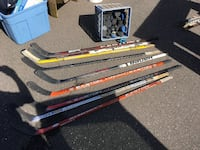 Used hockey sticks & pucks Manchester, 06040