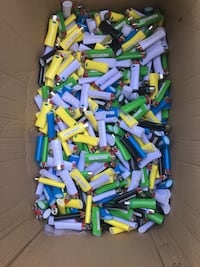 Disposable lighter lot