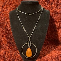 Vintage Handcrafted Baltic Butterscotch Amber Necklace Ashburn, 20147