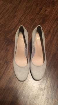 H&M Gray Suede Heels Falls Church, 22041