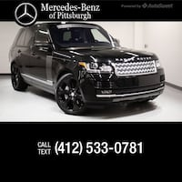 2016 Land Rover Range Rover Supercharged Pittsburgh