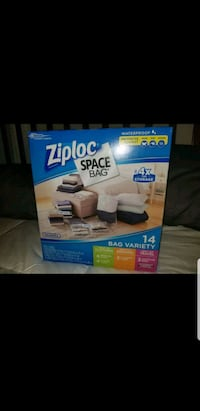Ziploc Space Bags, Variety sizes Sacramento