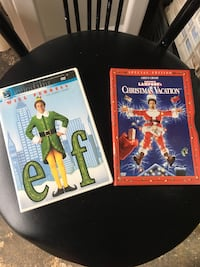 CHRISTMAS DVDS $ 2 EACH Oceanside, 11572