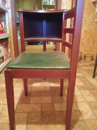 Antique Telephone Stand With Chair PURCELLVILLE